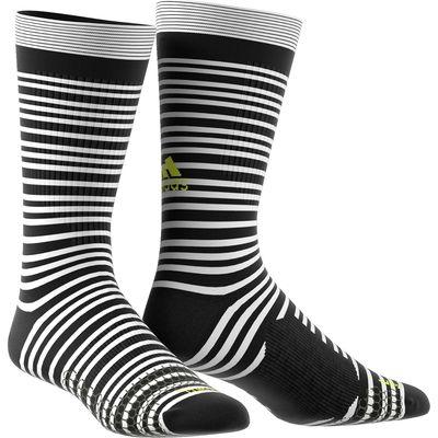 adidas Tango Training Socks - White/Black/Solar Yellow, Black/White/Yellow