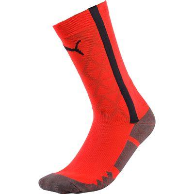 Puma EvoTRAINING Sock - Fiery Coral/Ebony, N/A