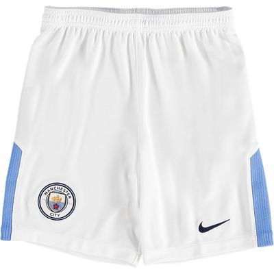 Manchester City Home Stadium Shorts 2017-18 - Kids, Blue