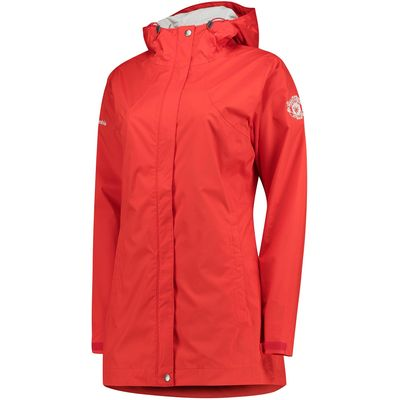 Manchester United Columbia Splash A Little Jacket - Cherrybomb - Women, Red