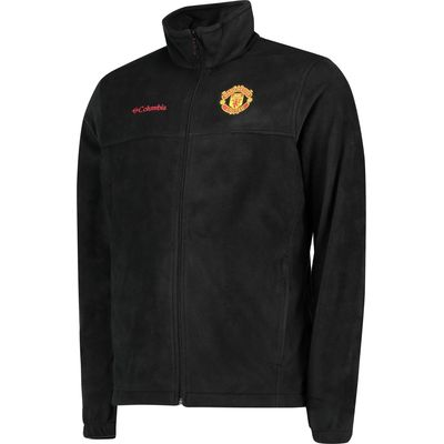 Manchester United Columbia Steens Mountain Full Zip Fleece - Black - M, Black