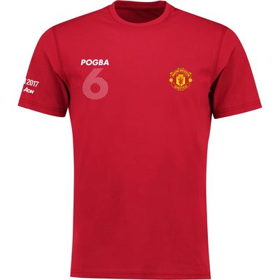 Manchester United Target Pogba T-Shirt - Red - Kids, Red