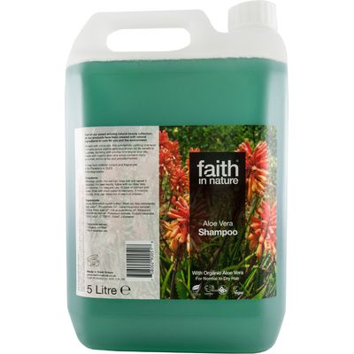 Faith In Nature Aloe Vera Shampoo - 5L