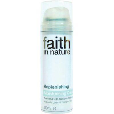 Faith in Nature Replenishing Moisturiser - 50g