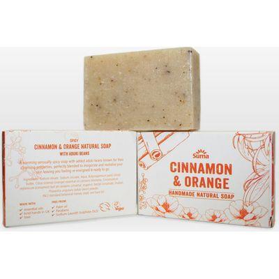 Suma Handmade Natural Soap - Cinnamon & Orange - 95g
