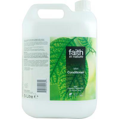 Faith in Nature Conditioner - Mint - 5L