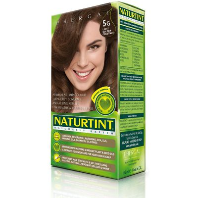 Naturtint 5G Light Golden Chestnut Permanent Hair Dye - 170ml