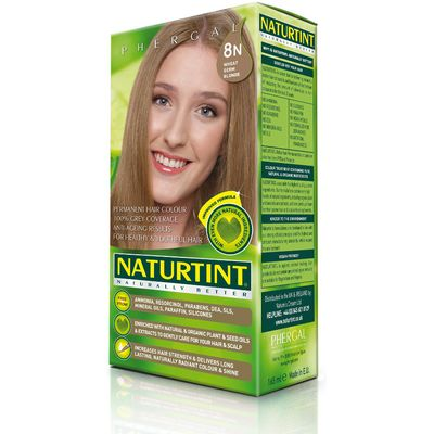 Naturtint 8N Wheatgerm Blonde Permanent Hair Dye - 170ml
