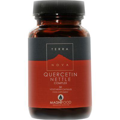 Terranova Vegan Quercetin Nettle Complex Supplement - 50 Capsules
