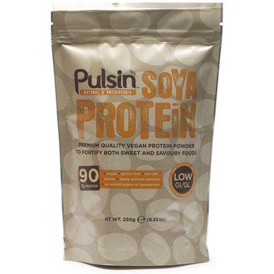 Pulsin' 90% Soya Protein Powder - 250g