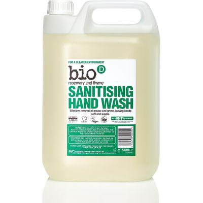 Bio D Sanitising Hand Wash Rosemary & Thyme - 5L