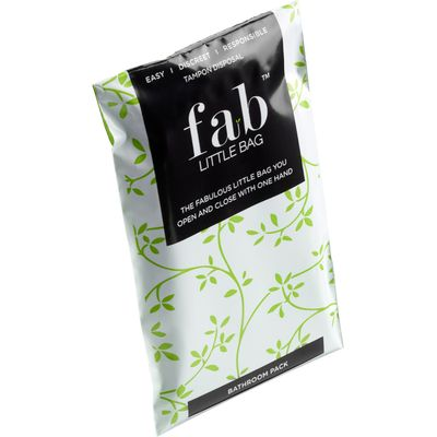 Fab Little Bag Tampon Disposal Bags - Bathroom Pack of 20
