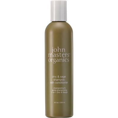 John Masters Organics Zinc & Sage Shampoo with Conditioner - 236ml