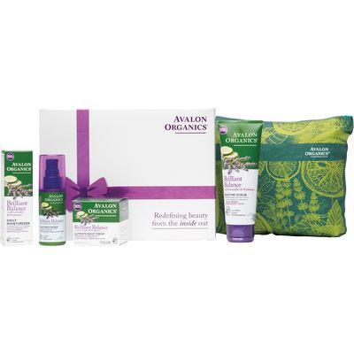 Avalon Organics Skin Care Gift Set - Brilliant Balance