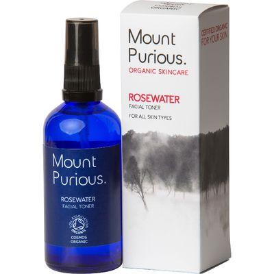 Mount Purious Rosewater Facial Toner - 100ml