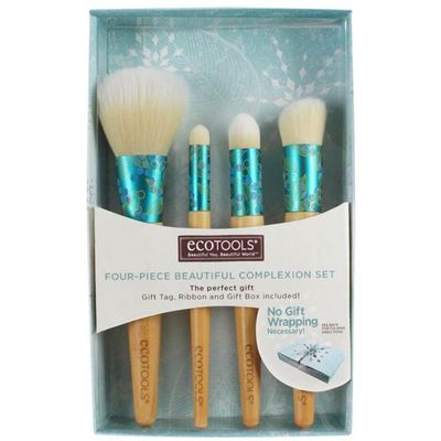 Eco Tools Bamboo Beautiful Complexion  Four Piece Bamboo Brush Set