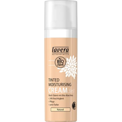 Lavera 3 in 1 Tinted Moisturising Cream - Natural - 30ml