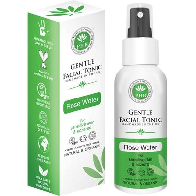 PHB Ethical Beauty Gentle Facial Tonic for Sensitive Skin & Eczema - 100ml