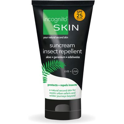 Incognito SPF25 Suncream & Insect Repellent - 150ml