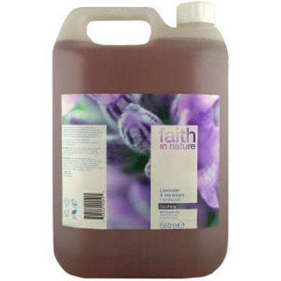 Faith In Nature Lavender & Geranium Hand Wash - 5L