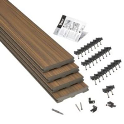 5011944041481 | Trex   Torino Brown Composite Deck Board  T 24mm  W 140mm  L 2400mm  Pack of 4 Store