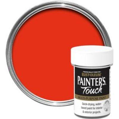 5013296030564 | Rust Oleum Painter s Touch Interior   Exterior Bright Orange Gloss Multipurpose Paint 20ml Store