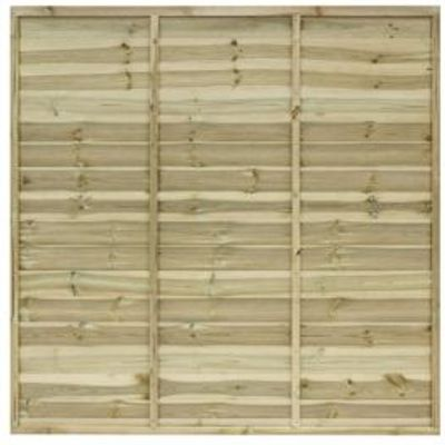 5019063209546 | Primo Overlap Fence Panel  W 1 83m  H 1 8m  Pack of 4 Store