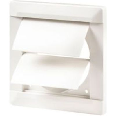5020953930778 | Manrose White External Flap Wall Vent Store