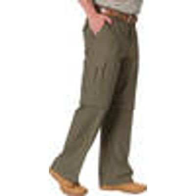Zip-Off Trousers, Khaki, in various sizes