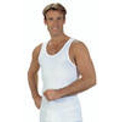 Sport Vest, Pack 2, fine ribbed