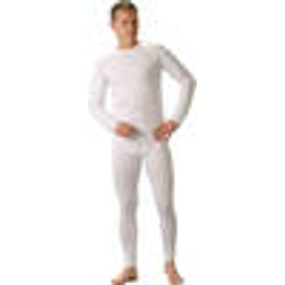 Long Sleeved Vest, white, in various sizes
