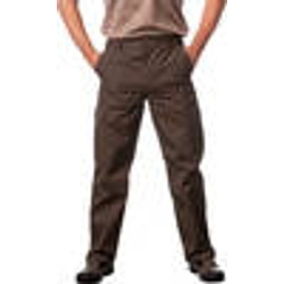 Outdoor Trousers with waterproof coating, olive, in various sizes