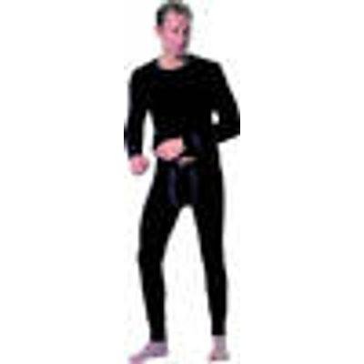 Underpants long Trevira without engagement, black size 5
