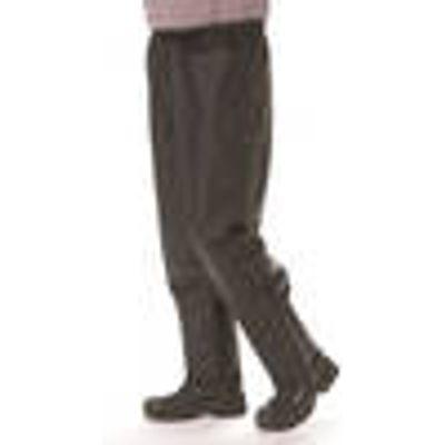 Rain trousers, colour black, size M