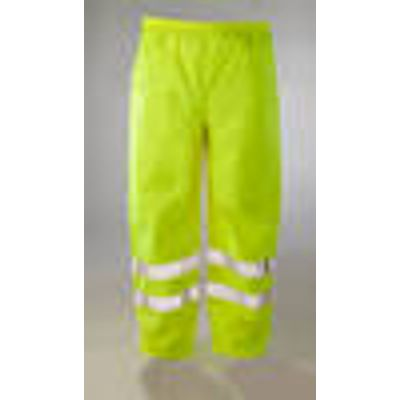 High Visibility Trousers, neon yellow, various sizes