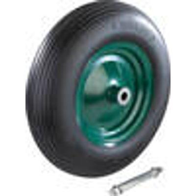 4040746097090   Wheelbarrow Wheel Puncture proof  including axle M12   1 piece Westfalia Store