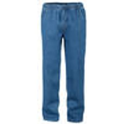Pull-on Trousers with Elasticated Waist,indigo blue, in various sizes