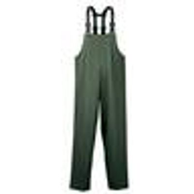 Stretchy waterproof waders, colour olive, size L