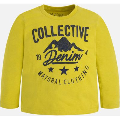 Boy long sleeve brushed jersey t-shirt Mayoral