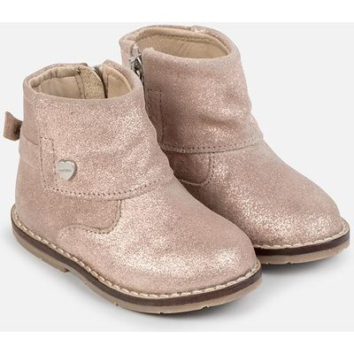 Baby girl split leather ankle boots Mayoral