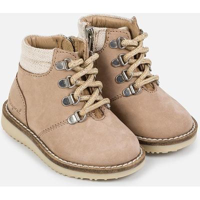 Baby girl nobuck mountain ankle boots Mayoral