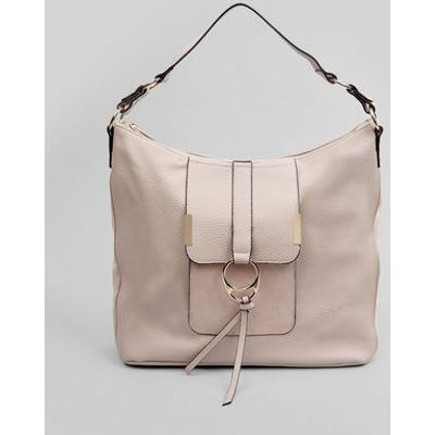 Nude Ring Front Tote Bag