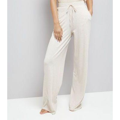 Tall Cream Jersey Pyjama Joggers