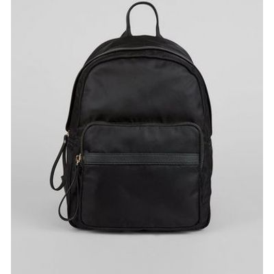 Black Utility Backpack