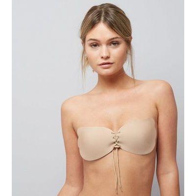 Nude C Cup Stick On Bra