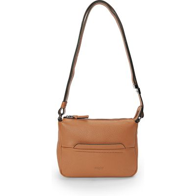 Faro 1 bag in suede nappa leather details Bree brown
