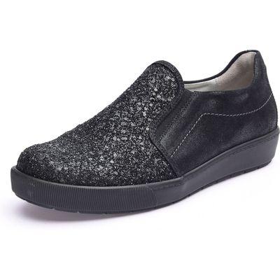 Loafers Waldläufer black
