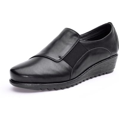 Flexible loafers Peter Hahn black