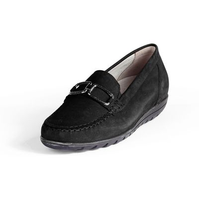 Moccasins from Waldläufer black