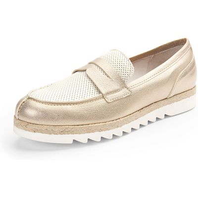 Loafers from Scarpio gold